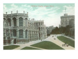 Windsor Castle, Lower Ward, England Posters