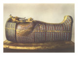 King Tut Outer Mummy Case Print