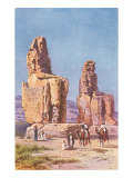 Colossi of Memnon, Egypt Poster