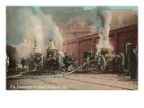 Early Fire Pumpers, Louisville, Kentucky Posters