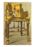 Gold Chair from King Tut Tomb, Egypt Posters