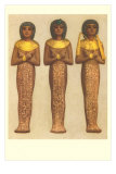 Three Cases for Female Mummies Prints