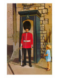 Buckingham Palace Guard, London, England Poster