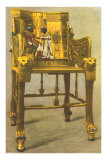 Gold Chair from King Tut Tomb, Egypt Prints