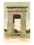 Portal of Euergetes, Karnak, Egypt Poster