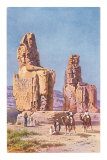 Colossi of Memnon, Egypt Posters