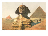 Sphinx, Pyramids, Egypt Posters