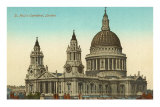 St. Paul's Cathedral, London, England Posters