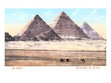 Giza Pyramids, Egypt Posters
