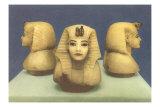 Alabaster Pharaoh Heads Prints