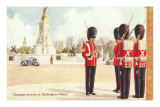 Guards at Buckingham Palace, London, England Posters