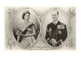 Queen Elizabeth and Prince Philip Posters