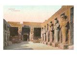 Ramsesseum, Karnak, Egypt Poster