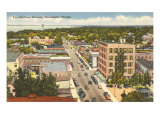 Ft. Harrison Avenue, Clearwater, Florida Poster