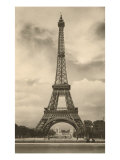 Eiffel Tower, Paris, France Giclee Print