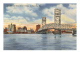 Bridge, Jacksonville, Florida Print