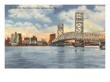 Bridge, Jacksonville, Florida Print