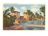 Venetian Pool, Coral Gables, Florida Print