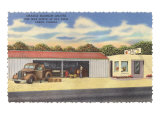 Fruit Stands, Largo, Florida Print
