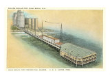 Pier, Miami Beach, Florida Print