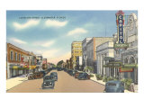 Cleveland Street, Clearwater, Florida Poster