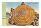 Bathing Beauties and Umbrella Posters