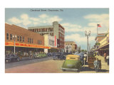 Cleveland Street, Clearwater, Florida Posters