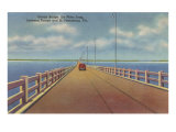 Gandy Bridge, St. Petersburg, Florida Poster