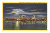 Night, Jacksonville, Florida Posters