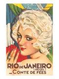 Rio de Janeiro Fairy Tale Posters