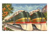 Orange Blossom Special Trains, Florida Posters