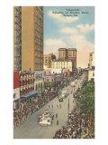 Gasparilla Parade, Tampa, Florida Print