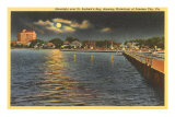 Night, Panama City, Florida Posters