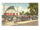 Yacht Basin, Miami, Florida Print