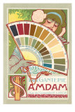 Art Nouveau Paint Chips Posters