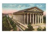Magdalene Church, Paris, France Posters