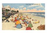 Ocean Beach, Ft. Lauderdale, Florida Posters