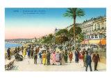 Promenade, Nice, France Print