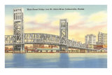 Bridge, Jacksonville, Florida Posters