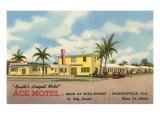 Ace Motel, Jacksonville, Florida Print