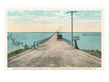 Bridge, Clearwater, Florida Poster
