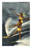 Water Skiers, Florida Photo