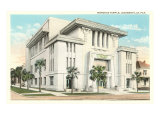 Morocco Temple, Jacksonville, Florida Posters