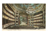 Interior, Opera House,Paris, France Giclee Print