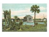 Public Library, Daytona, Florida Print