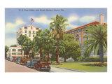 Post Office, Ocala, Florida Posters