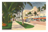 Lincoln Road, Miami Beach, Florida Posters
