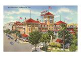 Hotel Windsor, Jacksonville, Florida Posters