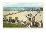 Beach, Pensacola, Florida Poster