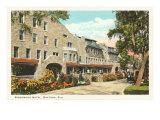 Ridgewood Hotel, Daytona, Florida Print